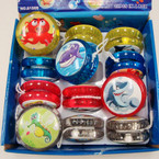 Light Up Sealife YoYo's 12 per display box  .55 ea