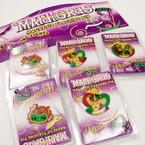 Magnetic Flashing Mardi Gras Pins 36 per display NEEDS BATTERIES .10 ea