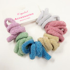 30 Pack Sparkle Ponytailers Mixed Colors .52 per set