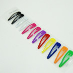 "1.75"" Asst Color Metal Snap Clips 12 per pk @ .45 ea set"
