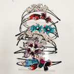 First Buyer  Gets This Deal 23 pc Crystal Stone Headbands  ONLY .99 ea