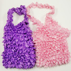 SPECIAL SLeeve Less Halter Popcorn Shirts 12 per pk ONLY .75 ea