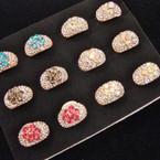 Amazing Value Crystal Stone Dome Fashion  Ring  .54 per
