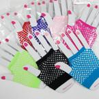 Small Net Fashion Glove 8- Colors 12-pr pack .50 per pr