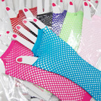 Long Net Fashion Glove 8- Colors 12-pr pack .54 per pr