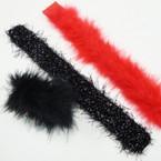 """9"""" 3 Style Mixed as Shown Slap Bracelets 23 per pk .39 each"""