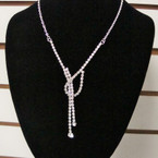 Gold & Silver Fashion Rhinestone Necklace Set .56 ea