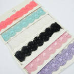 "1.5""  Vintage Lace  Choker Necklace 6 colors As Shown    .54 ea"