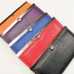"4"" X 7.5"" Asst Colors  Fashion Ladies Wallets 12 per pk $ 1.04 ea"