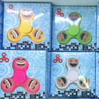 Hand Spinner Glo in the Dark Emoji Style  24 per display bx  $ 1.39 each