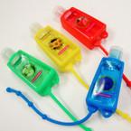 """3"""" Asst Color Scent Hand Sanitizer 12 per pk .54 ea"""