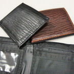 Men's Bi Hold Textured Wallets 2 colors as shown .56 ea