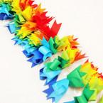 "5"" Rainbow Color Gator Clip Ribbon Fashion Bows .54 ea"