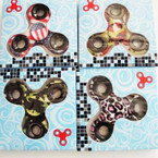 Camouflage & Mix Print Hand Spinners 24 per box $ 2.75 ea