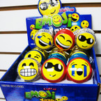 EMOJI Theme Light Up Yo Yo 12 pcs display box .54 ea