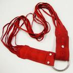 CLOSEOUT 60's Style Burgundy Color  Fringe Belts 12 per pk .33 each