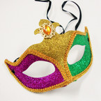 Mardi Gras Color Fashion Party Masks  .56 each