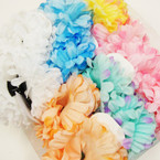 "Big DBL 5"" Mum Flower Jaw Clip Bows Asst Colors .56 each"