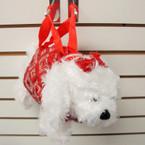Cutest Sequin White Puppy Handbags 12 per pk $ 3.00 each