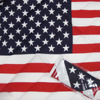 "21"" Square USA Flag Bandana's 12 per pack .45 each"