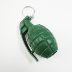 "CLOSEOUT 2.5"" Green Hand Grenade Keychains 12 per pk  .12 each"