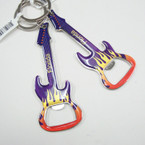 "4"" Florida Flaming Guitar Keychains 12 per pk .54 each"