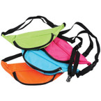 "13"" Mixed Neon Color Fanny Packs  12 per pack $ 1.25 each"