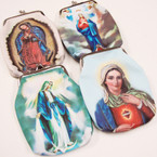 "3.5"" X 5"" Guadalupe Snap Closure Purse .56 each"