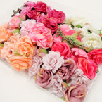Awesome Color Large Flower Headbands w/ Elastic Back .56 each