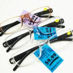 Unisex Fashion Reading Glasses (40)  12 per bx .55 each
