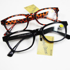 Stylish Unisex Blk & Brown Frame Readers   12 per bx  .55 each