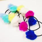 Trendy Pom Pom Fashion Headbands Asst Colors .56 each