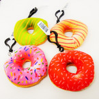 "NEW 3"" Donut Theme Plush w/ Clip .54 each"