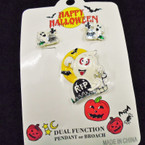 SPECIAL Eclipse Halloween Pin & Earring Set .33 each set