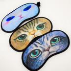 Cat Theme Sleeping Masks Mixed Prints  .54 each