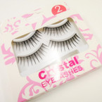 2 Pack Fashion Eyelashes As Shown .54 per set