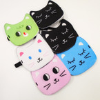 Two tone Cat Theme Sleeping Masks Mixed Prints .54 each