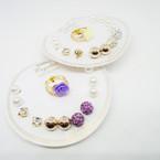 6 Pair Earrings Plus 2 Rings .50 per set