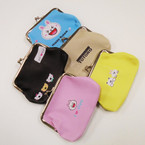 "4"" Cute Print Theme Snap Closure Coin Purses .54 each"