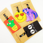 "4"" Mixed Novelty Style Luggage Tag w/ ID Card .54 each"