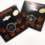 Halloween Theme Hologram Adj. Rings 12 per pk .21 each