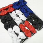 4 Pack 4 Color Gator Clip Bows .54 each set
