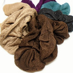 Real Nice Winter Color  Hair Twisters Soft Fabric  12 per pk .25 each