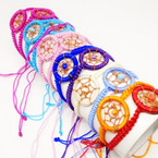 Handmade Macrame Dream Catcher Fashion Bracelets .56 each