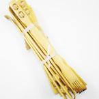 "18"" Bamboo Wood Back Scratcher w/ 2 Massage Balls 12 per pk .54 ea"