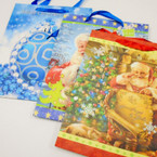 "10"" X 13"" Lg. Heavy Duty Christmas Gift Bags .54 each"