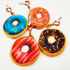 "3.5"" Mixed Style Donut Theme Zipper Coin Purse .54 each"
