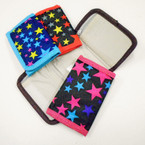 Girl's Star Theme Tri Fold Wallets Only .50 each