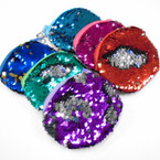 "4"" Sequin Mermaid Change Color Coin Purses .58 ea"