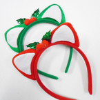 Christmas Theme Cat Ear Fashion Headbands .58 each